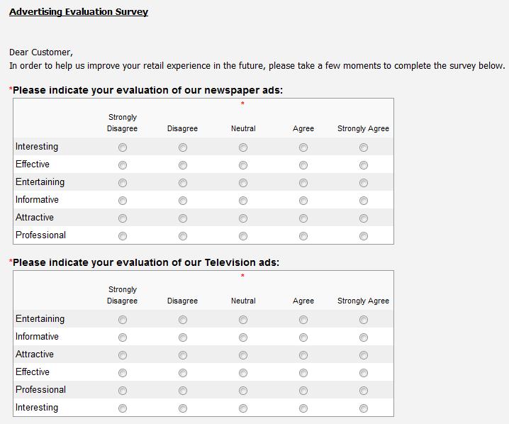 customer surveys samples jennifer s blog