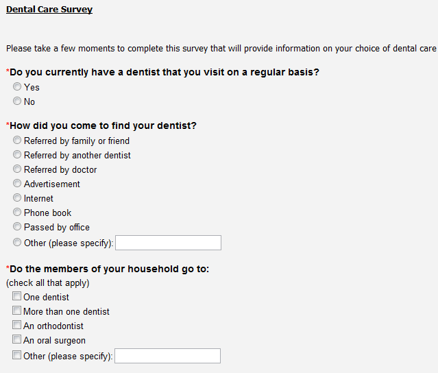 Sample Dental Patient Satisfaction Survey Legitimate Online Paid At Main At  Locust Pharmacy Patients Pay Out